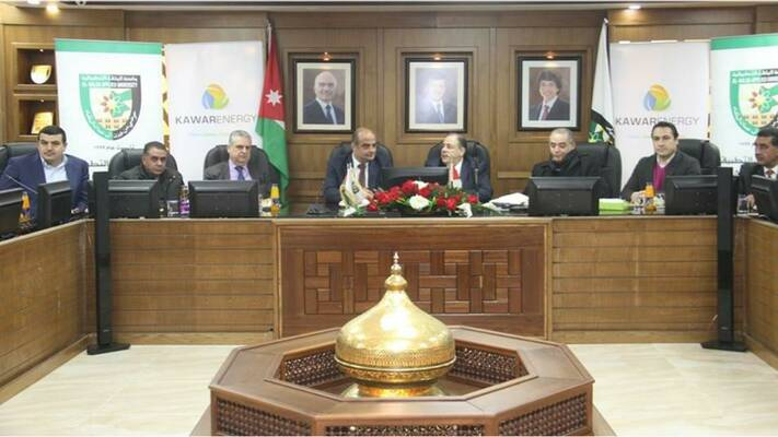 Signing Ceremony at Al-Balqa' Applied University on 14 January 2019